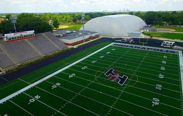 size 40 266a3 89885 UIndy s Key Stadium gets new playing surface